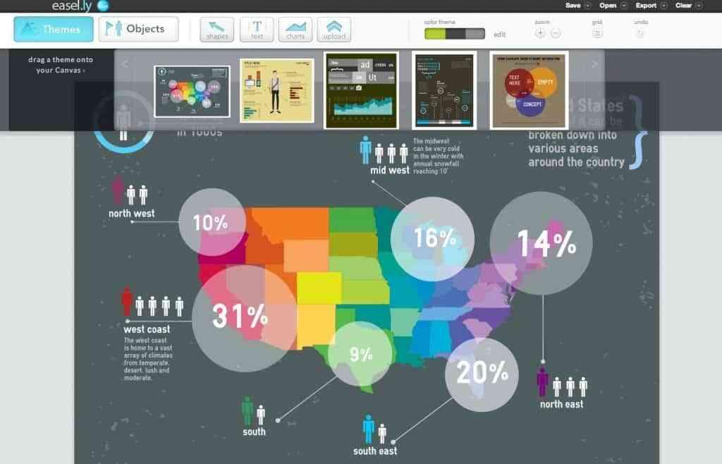 editor infografias easelly