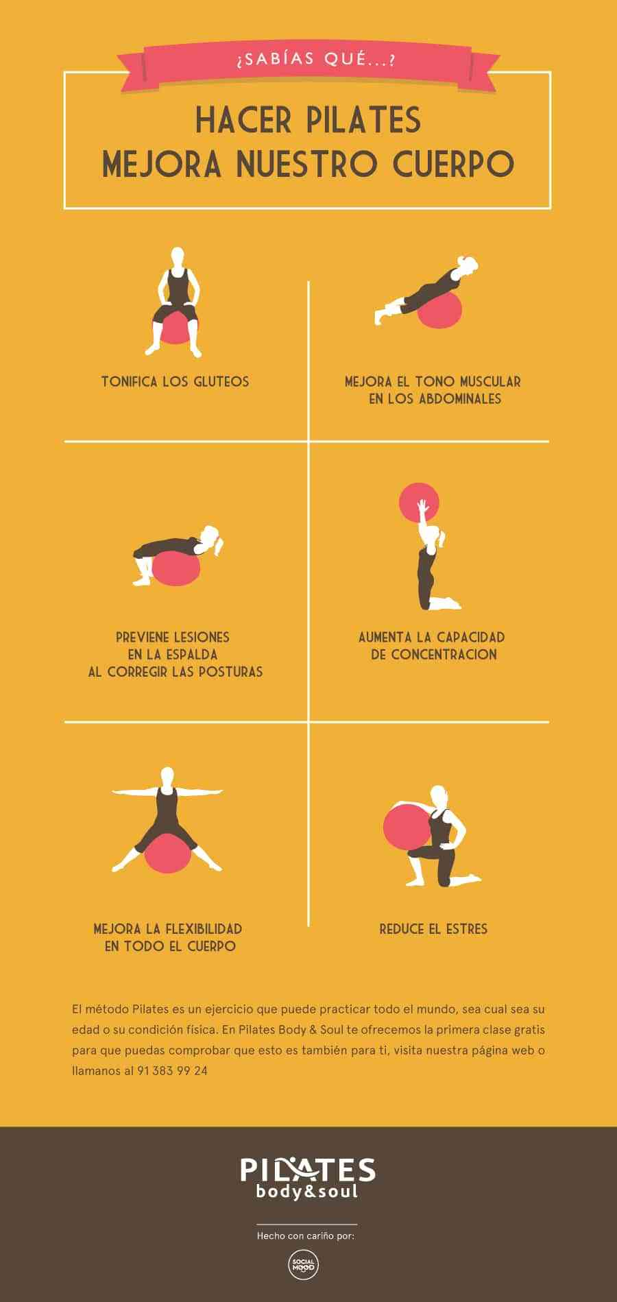 los beneficios de practicar pilates