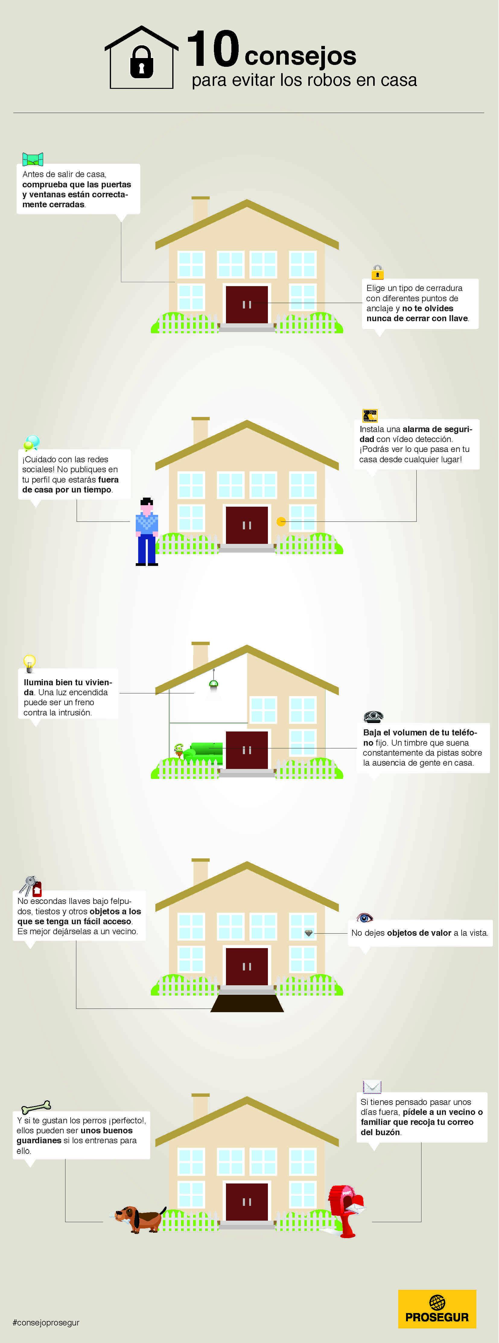 10 consejos para evitar robos