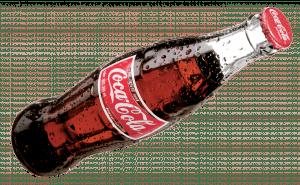 botella clásica coca cola
