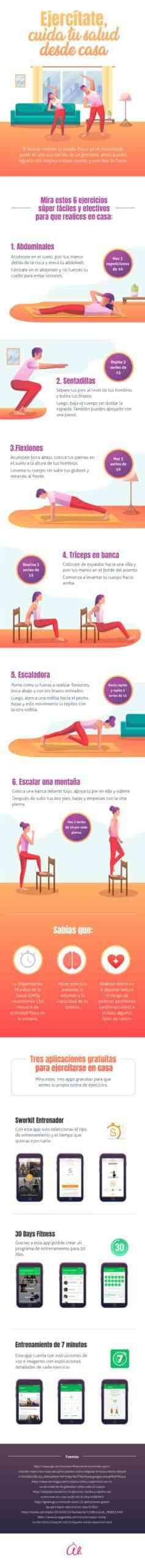 ejercicios para hacer en casa infografia scaled