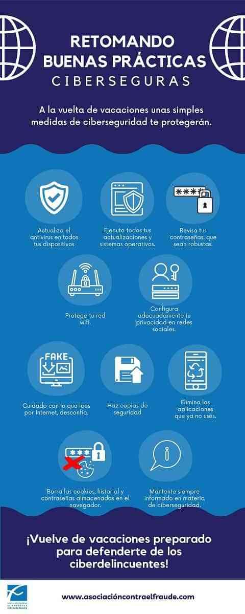 Tips para un regreso ciberseguro tras las vacaciones